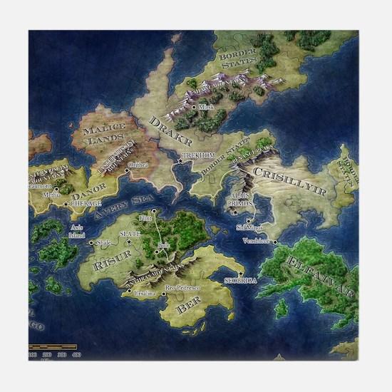 map Tile Coaster