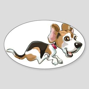 AFRAMEdog Sticker (Oval)