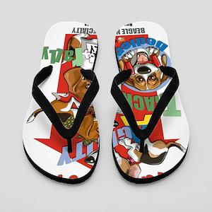 BeaglesNATIONALShirt Flip Flops