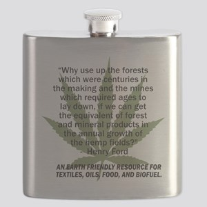 hemp4victorybackblk Flask