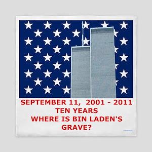 US_NAVAL_JACK_WHERE_IS_BIN_LADEN_With_ Queen Duvet