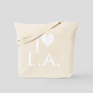 LA_10x10_apparel_ILoveLA_White Tote Bag
