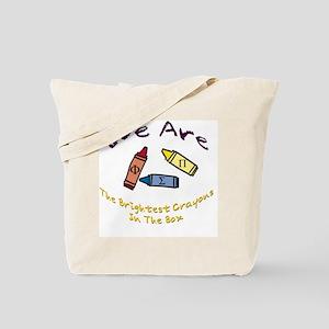 Brightest In The Box Tote Bag