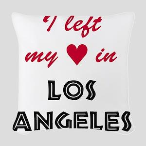 LA_10x10_apparel_LeftHeart_Bla Woven Throw Pillow