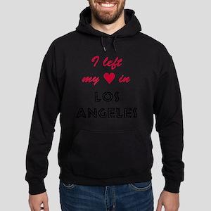 LA_10x10_apparel_LeftHeart_BlackRed Hoodie (dark)