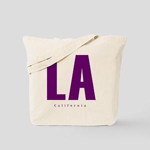 LA_10x10_apparel_L.A._Blue Tote Bag