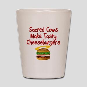 Sacred Cows Shot Glass