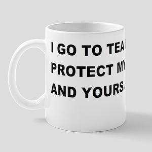 TEA PARTIES TO PROTECT MY FREEDOMBUMP Mug