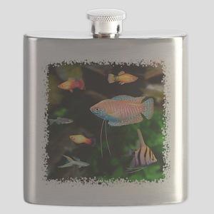 Tropical Fish Flask