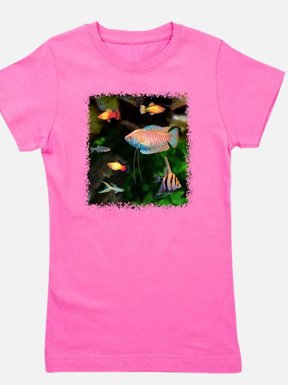 Tropical Fish Girl's Tee