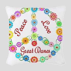 greatdane Woven Throw Pillow