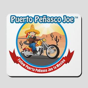 Biking in Mexico Mousepad