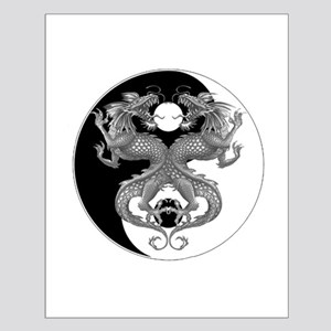 Yin Yang Dragons 1 Small Poster