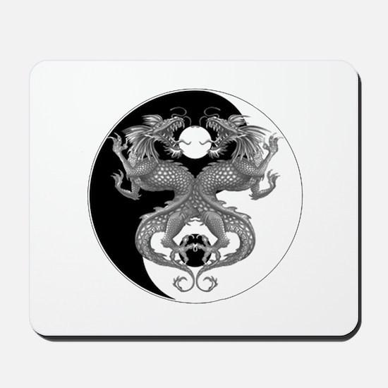 Yin Yang Dragons 1 Mousepad