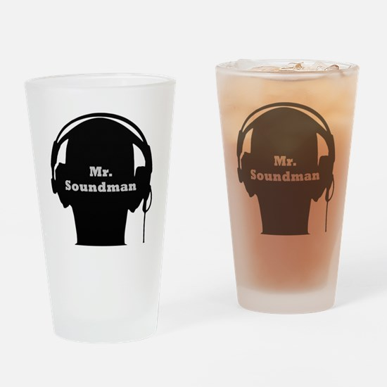 SoundManBig3 Drinking Glass