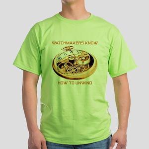 Watchmaker Green T-Shirt