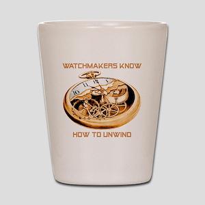 Watchmaker Shot Glass