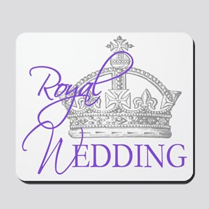 Royal Wedding  Crown 2 Mousepad