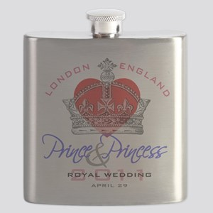 Heart  Crown P and P 1 Flask