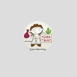 Texas Kid In Exile (boy) Mini Button