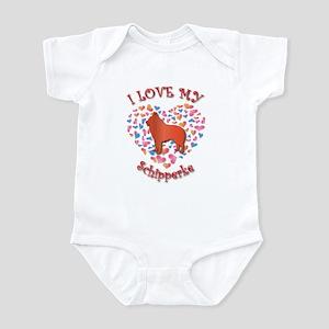 Love Schipperke Infant Bodysuit