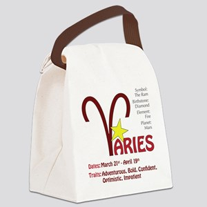 ariessquare Canvas Lunch Bag