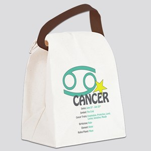 cancerdetail Canvas Lunch Bag