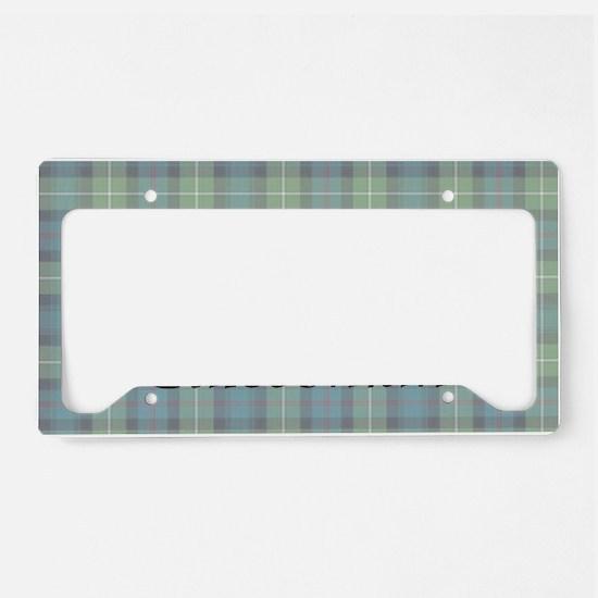 OvalSticker License Plate Holder