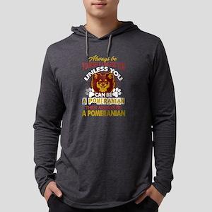 Pomeranian Shirt - Love Pomera Long Sleeve T-Shirt