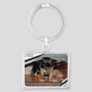 GSD-Chi-smell sweeter Landscape Keychain
