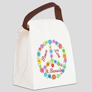 stbernard Canvas Lunch Bag