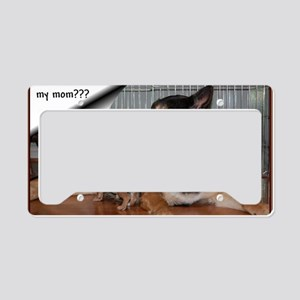 GSD-Chi-are you my mom License Plate Holder