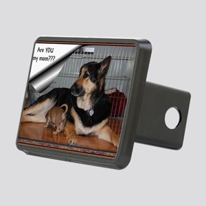 GSD-Chi-are you my mom Rectangular Hitch Cover
