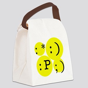 emotions Canvas Lunch Bag