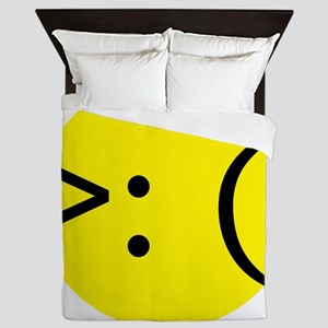 angry emotion Queen Duvet