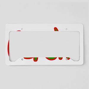 Bersht2 License Plate Holder