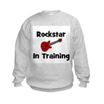Rockstar In Training Kids Sweatshirt