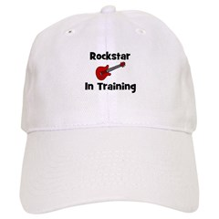 Rockstar In Training Baseball Cap