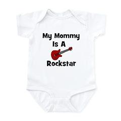 My Mommy Is A Rockstar Infant Bodysuit