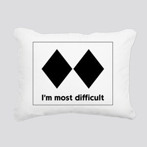 experts-only-front Rectangular Canvas Pillow