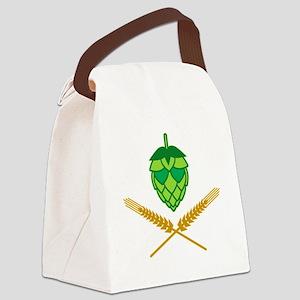 w3 Canvas Lunch Bag