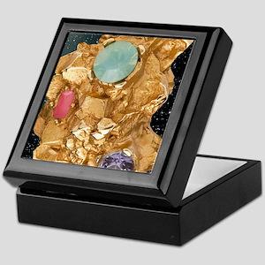 Jeweled_Gold_Nugget_78_iPad_Black_Sta Keepsake Box