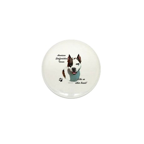 Am Staff Breed Mini Button