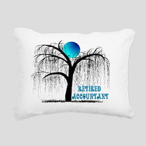Retired Accountant Rectangular Canvas Pillow
