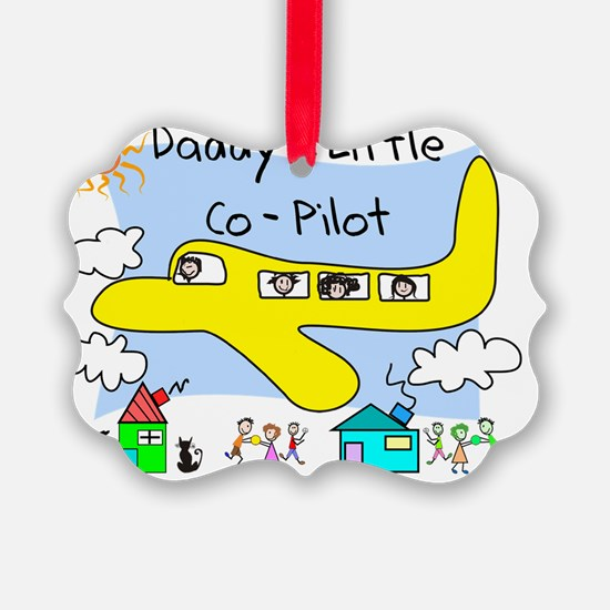 Daddys Little Copilot Ornament