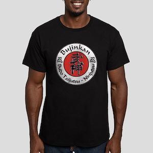 Bujinkan Crest Men's Fitted T-Shirt (cran Red)