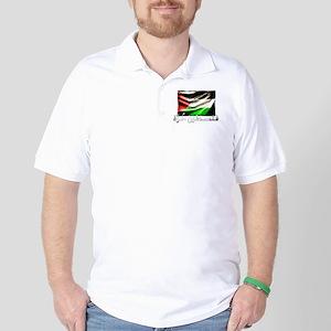free-palestine-grunge Golf Shirt