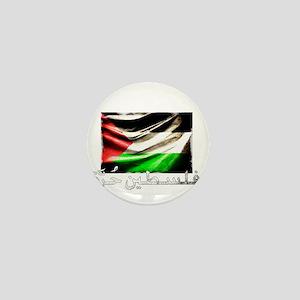 free-palestine-grunge Mini Button