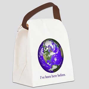 Been Here 2 Canvas Lunch Bag