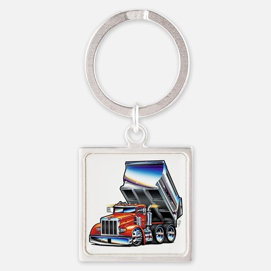 Pete357float Square Keychain